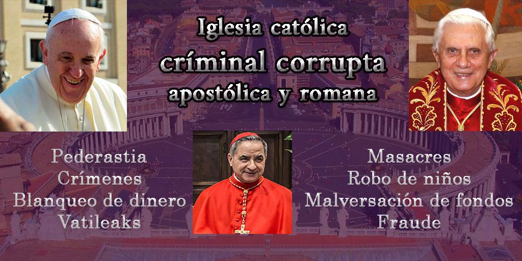 vaticano delincuencia catolico