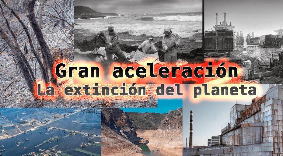 Gran aceleracion Antropoceno