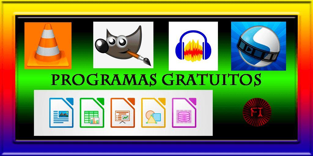 programas gratis sofware libre
