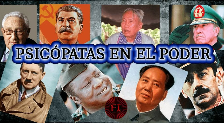 psicopatas mundo orden mundial